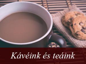 Fáy Présház és Étterem - Itallap - Kávékülönlegességek és teák