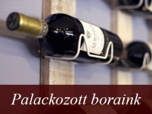 Fáy Présház és Étterem - Itallap - Palackozott borok