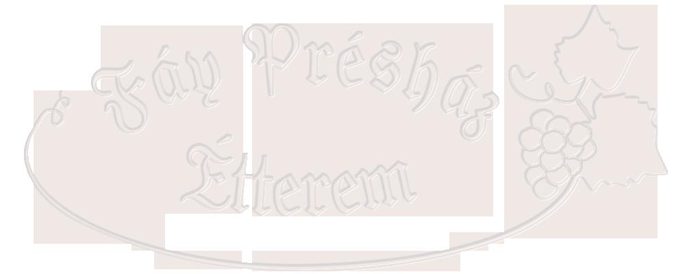 Fáy Présház Étterem